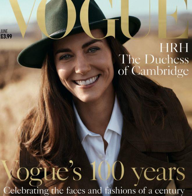 Дочки- матери – фотосессия Кейт Миддлтон в журнале Vogue