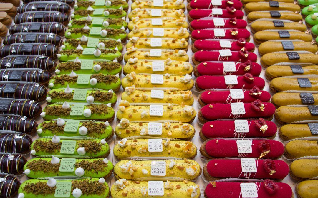 Лучшие новые пекарни в Лондоне: эклеры, кронаты, макаруны и капкейки.