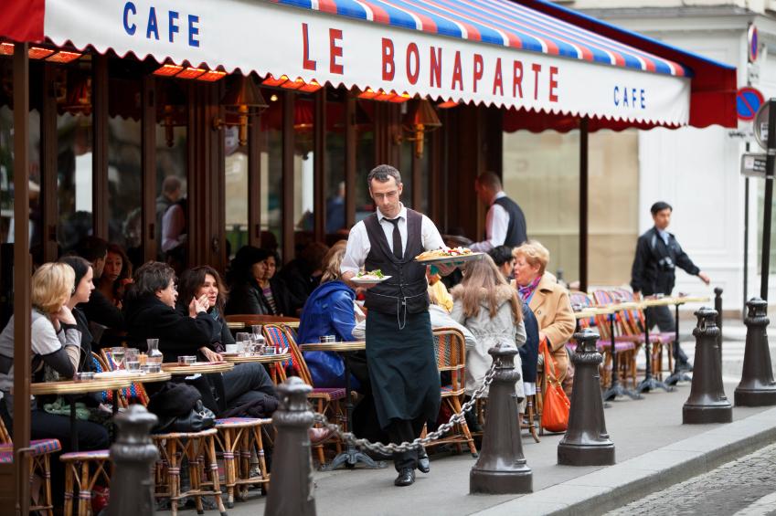 Лучшие кафе в Париже – Café Bonaparte