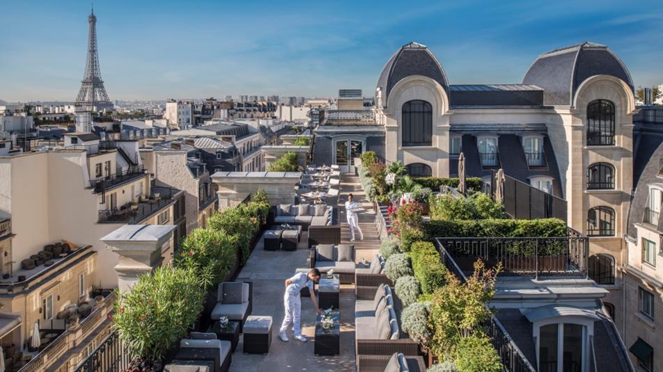 Le Rooftop cocktail bar – бары в Париже. Гид в Париже
