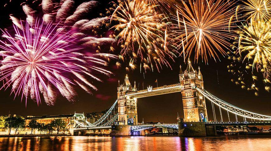 Новый год в Лондоне!