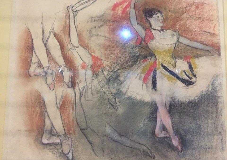 Выставка Эдгара Дега в Музее Орсэ.  Эдгар Дега в Париже.