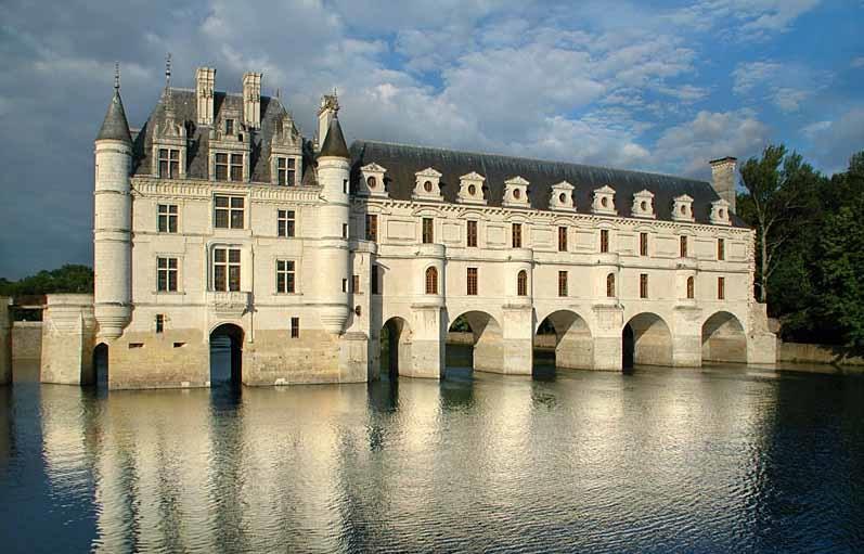 Замок Шенонсо. Экскурсия по замкам Луары.