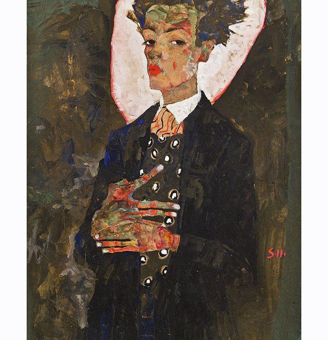 Выставка Шиле и Баския в Париже. Эгон Шилле в Fondation Louis Vuitton