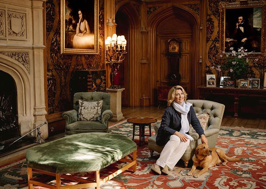 Проживание в Аббатстве Даунтон. Замок Хайклер. Гид в Аббатстве Даунтон